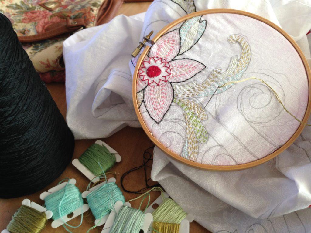 Hand-embroidery/Studio