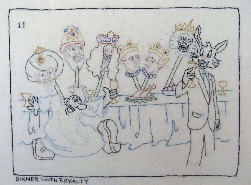 Candide 11/Dinner with Royalty: Martin, the Dethroned Kings, Death Candide