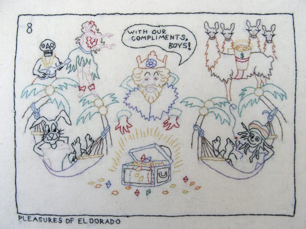 Candide 8/Pleasures of El Dorado: Death, Candide, Cacambo